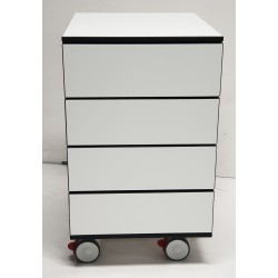 Meubles bas HPL Compact blanc