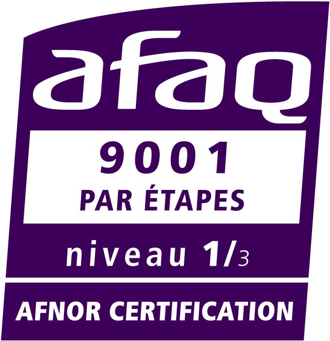 IDEA CONCEPTION est engagé dans une certification qualité ISO 9001 par étapes